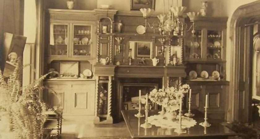 Rare Photos Inside Victorian Houses Old
