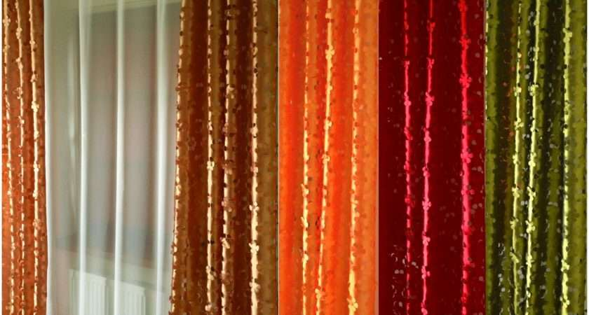 Ready Made Curtain Amazing Voile Various Sizes Colours Piping