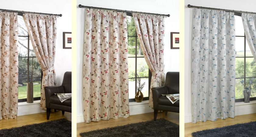 Ready Made Curtains Luxury Printed Design Choose Colours Sizes