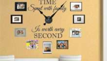 Real Clock Wall Decal Stickers Walls