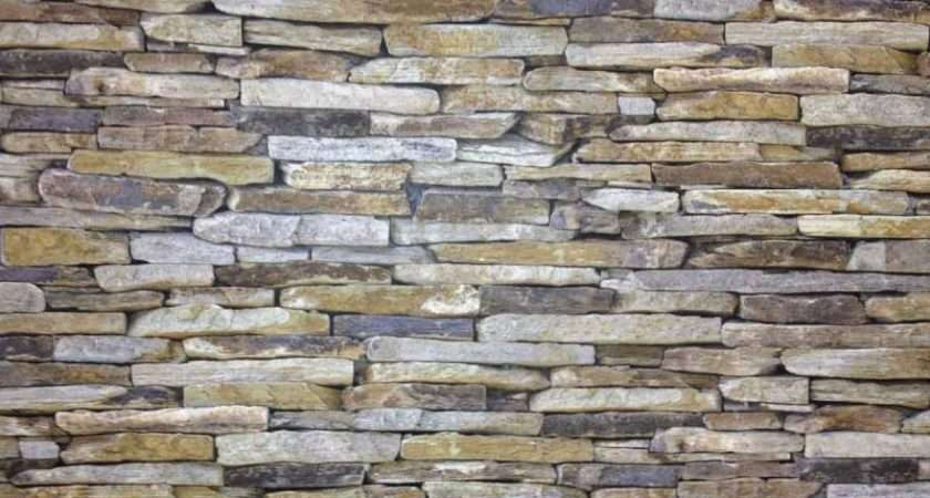 Realistic Dry Stone Wall Brick Effect Feature