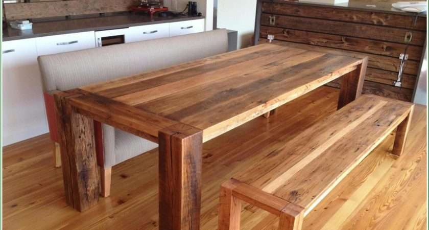 Reclaimed Wood Dining Table Design Ideas