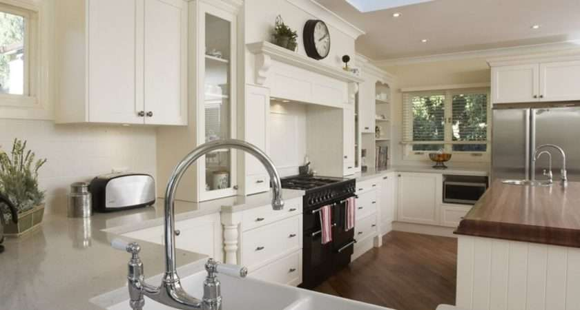 Rectangular Kitchen Design Endearing French Provincial