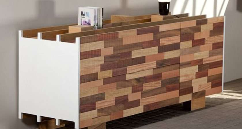 Recycled Wooden Furniture Office Desk Sideboard Bookcase Designs