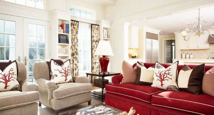Red Accent Chair Living Room Decorating Ideas Dining