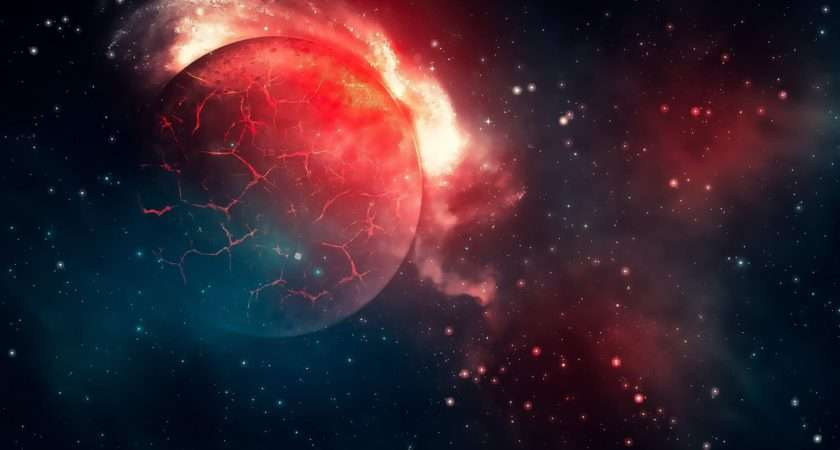 Red Planetuniverse Space Universe