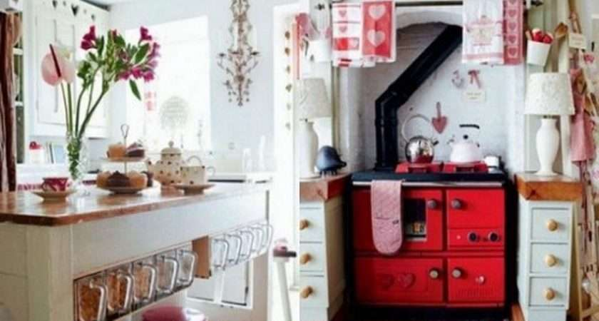Red Vintage Old Fashioned Kitchen Accessories Bloombety Source