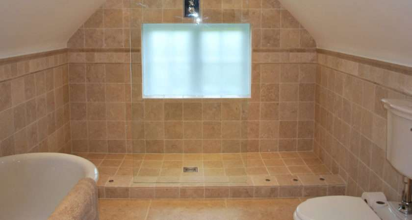 Redecorate Cold Welcoming Bathroom Into Modern Wet Room