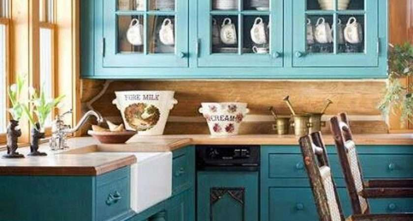Refreshing Blue Kitchen Design Ideas Rilane