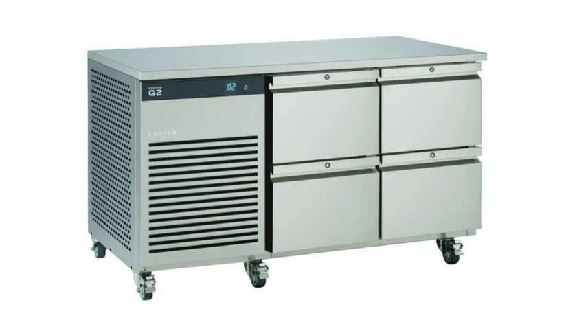 Refrigerated Counter Cabinet Drawer Combination