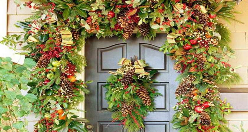 Related Home Garden Christmas Decorating Ideas