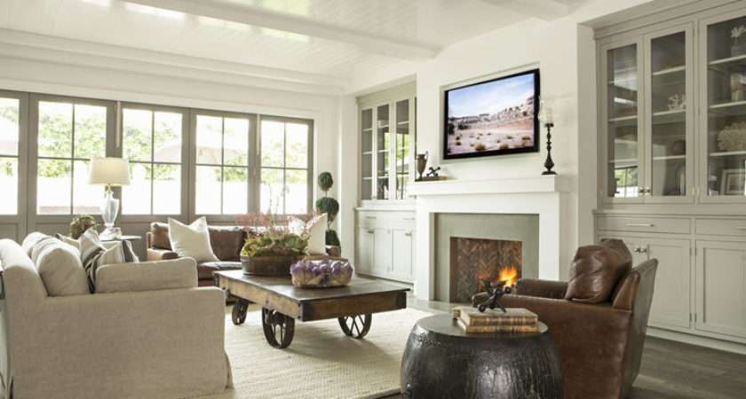 Relaxed California Style Living Room Simplified Bee