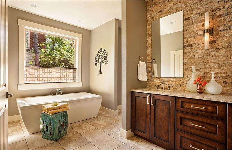 Relaxing Transitional Bathroom Garrison Hullinger Bathrooms