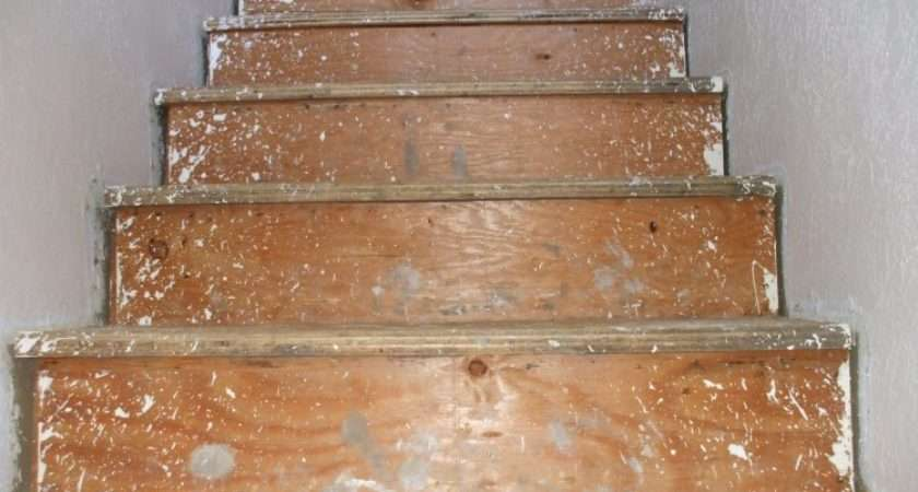 Replacing Carpeted Stairs Wood Treads