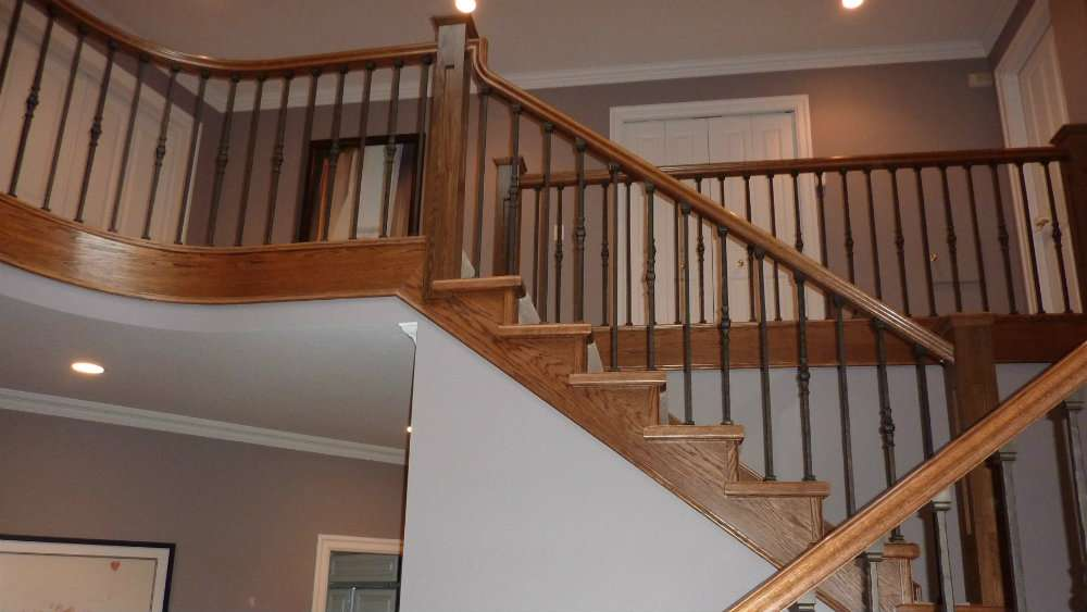 Replacing Stair Rail Wall Joy Studio Design Best