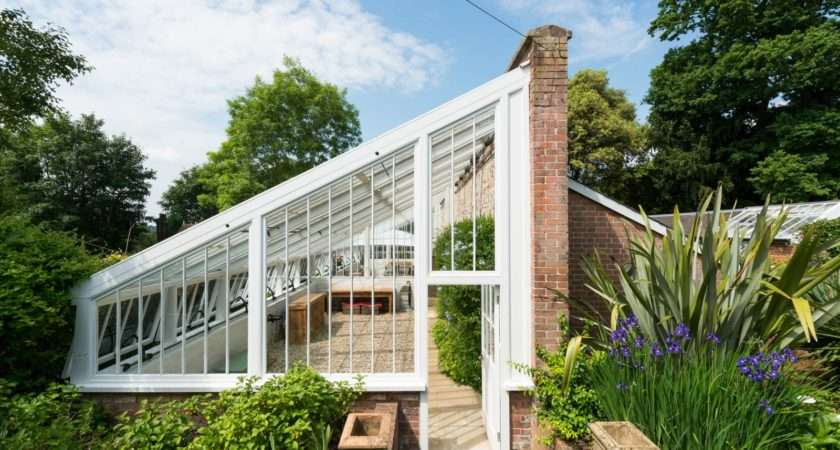 Rescued Ruin Century Greenhouse Becomes