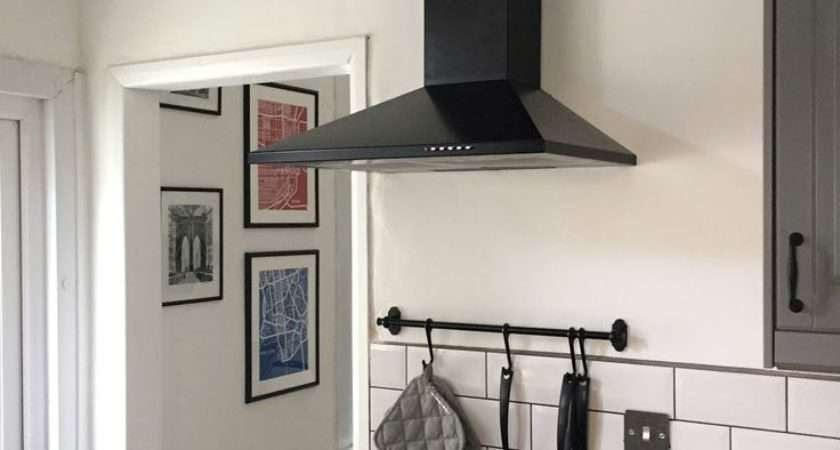 Result Exposed Range Hood Duct Oven Vent