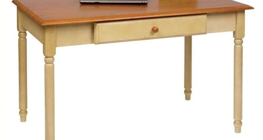 Results Hillsdale Wilshire Wood Writing Desk Antique White