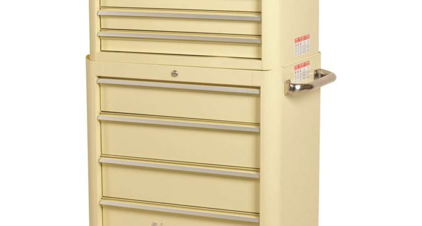 Retro Chest Trolley Combo Drawer Tool Boxes