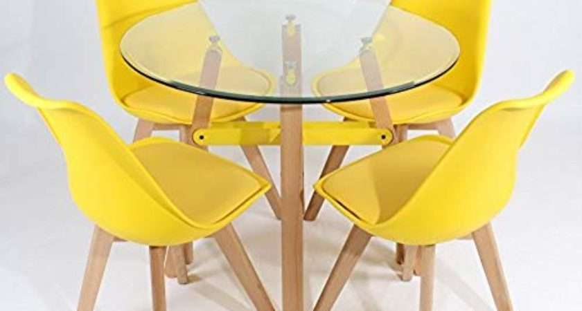 Retro Dining Table Chairs Amazon