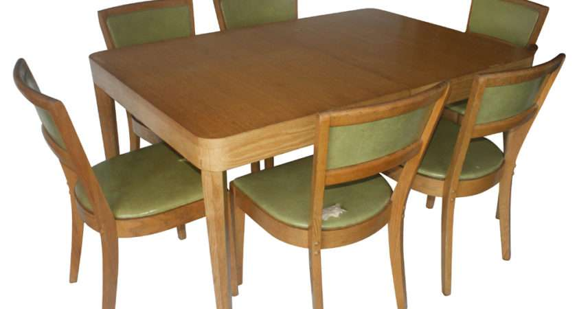 Retro Dining Table Chairs Marceladick