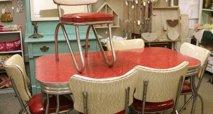 Retro Tables Chairs Marceladick