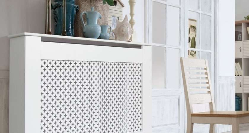 Richmond Medium White Painted Radiator Cover Departments