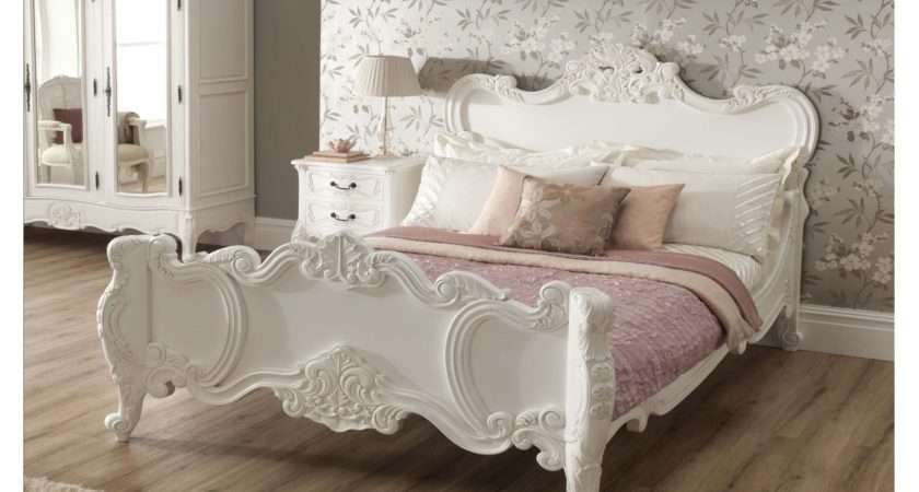 Rochelle Shabby Chic Antique Style Bed