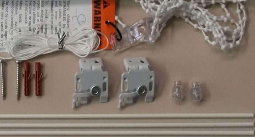 Roman Blind Deluxe Track Kits Side Control Chain