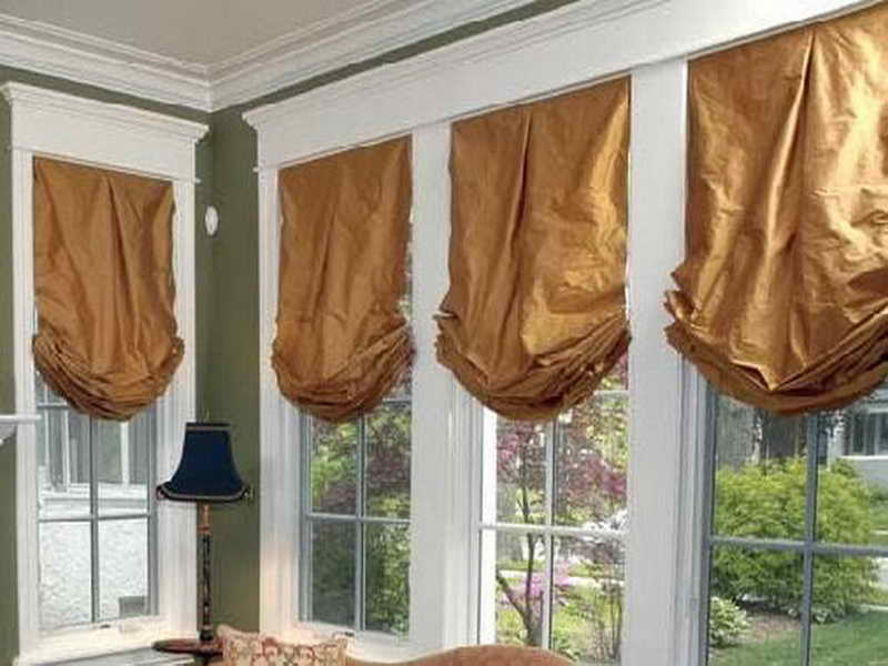 Roman Blinds Make Shade Pattern