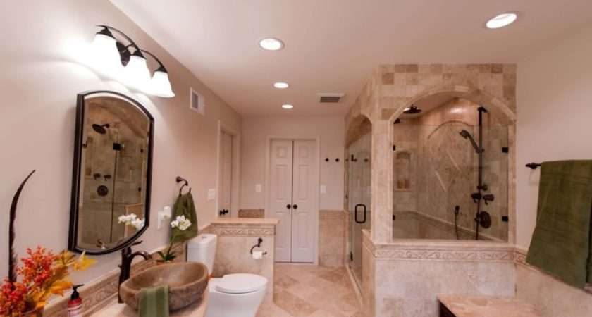 Roman Style Bath Adds Splendor Reston Townhome