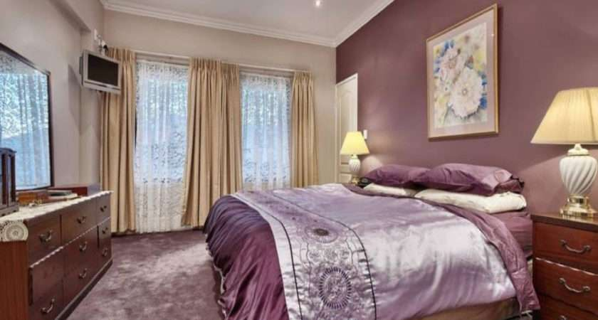 Romantic Bedroom Wall Color Home Combo