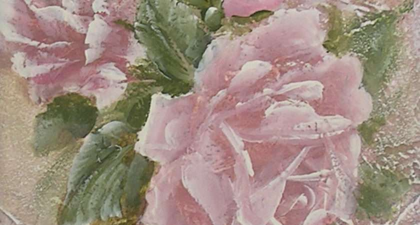 Romantic Country Rose Paintings Just Roses Shabby