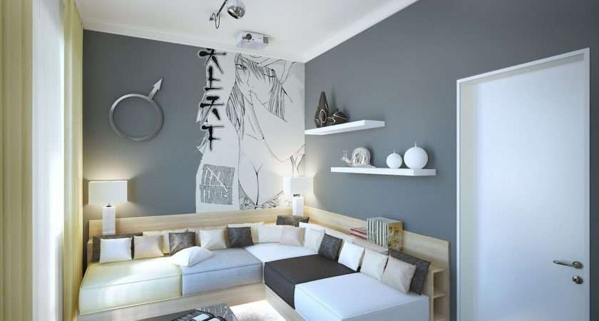 Room Decorated Two Distinct Styles
