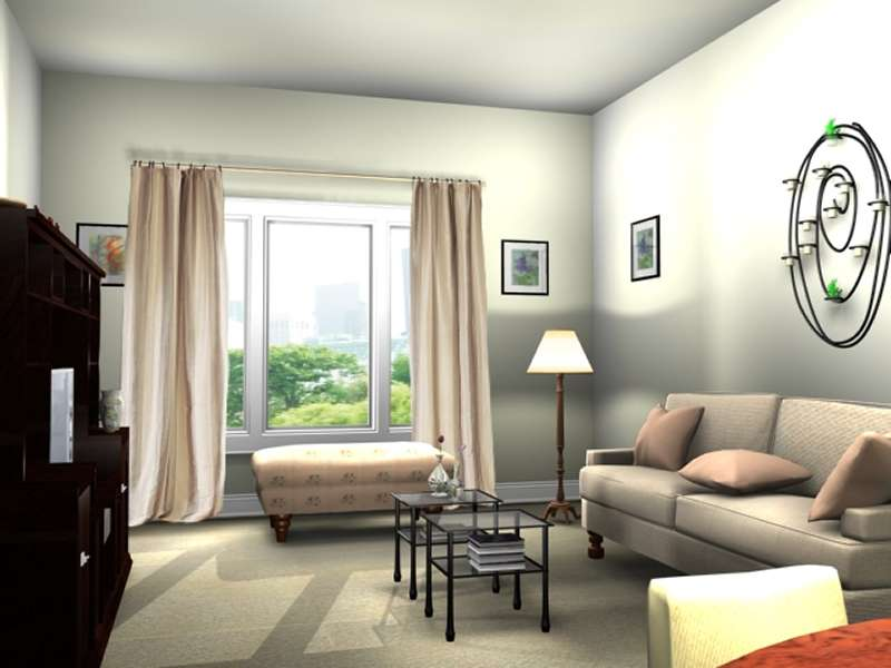 Room Decorating Ideas Small Living Simple