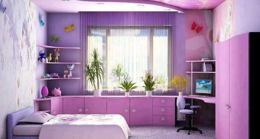 Room Design Bedroom Designs Awesome Purple Girls Ideas White