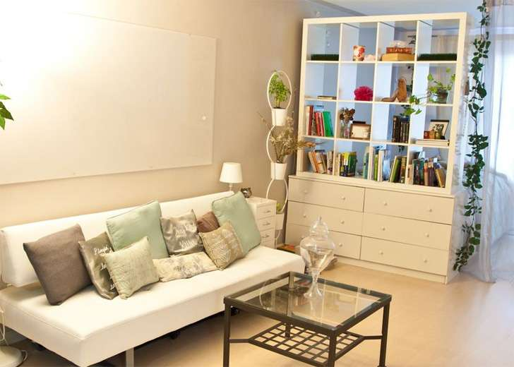 Room Dividers Section Off Your Space Style Bookcase Divider