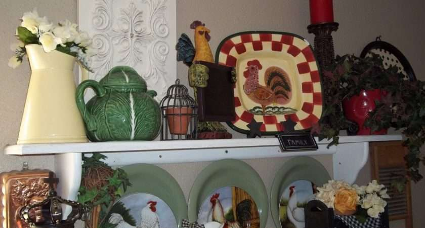Roosters Chickens Hence Birds Laundry Room