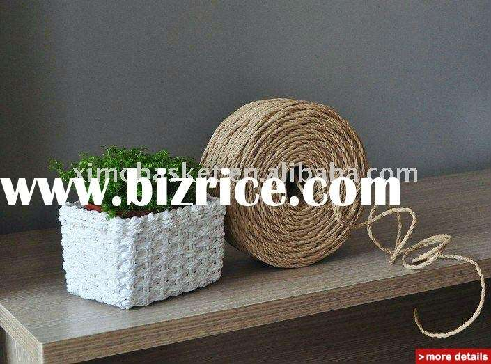 Rope Woven Holiday Gourmet Gift Storage Basket China Folk Crafts