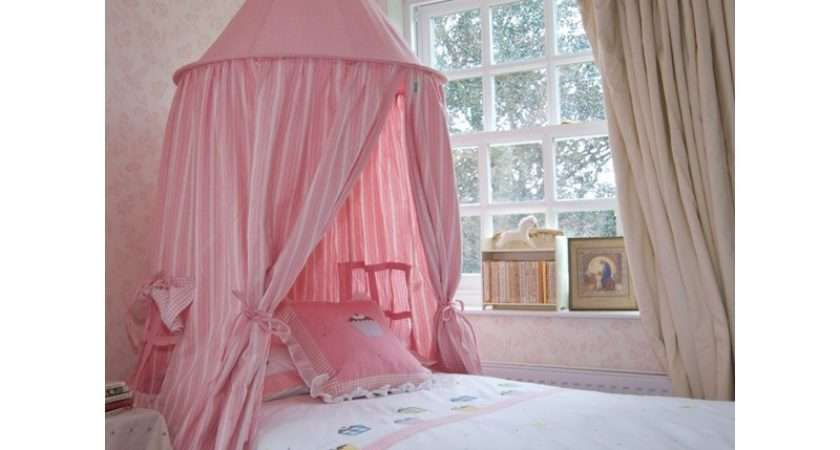 Rose Multi Stripe Hanging Play Tent Bed Canopy Win