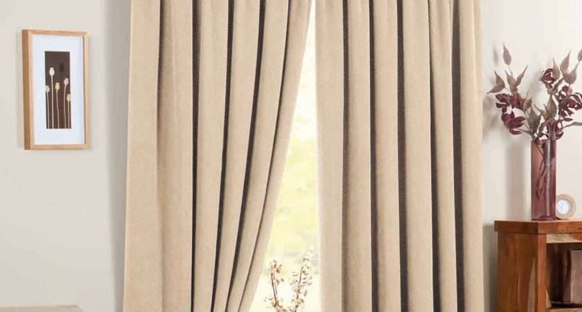 Rosenthal Son Chenille Spot Readymade Curtains Cream