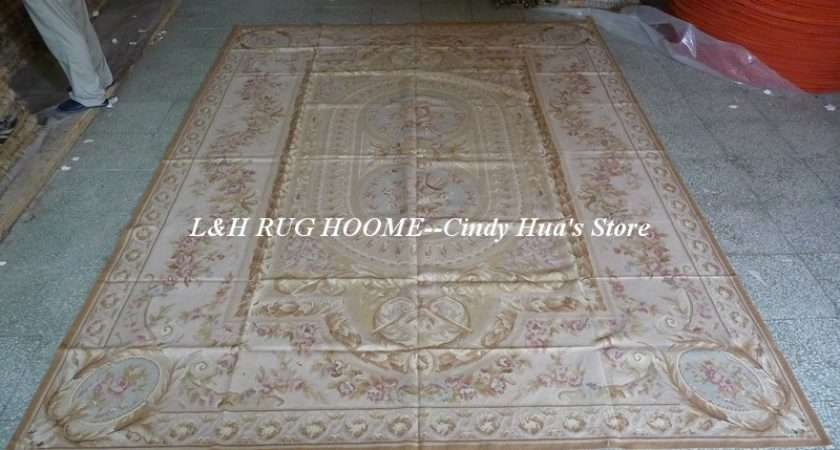 Rugs Beige Madellian French Style Floral Design Big