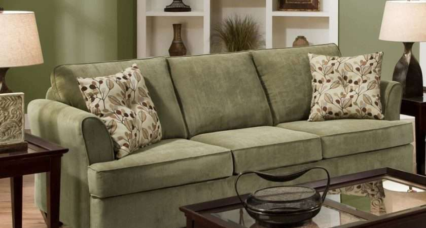 Sage Green Sofas Wall Color Couch Fabric