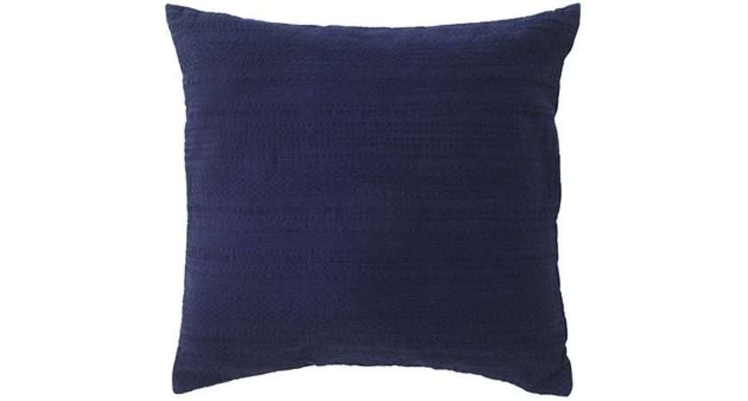 Sainsbury Moroccan Blue Embroidered Navy Cushion