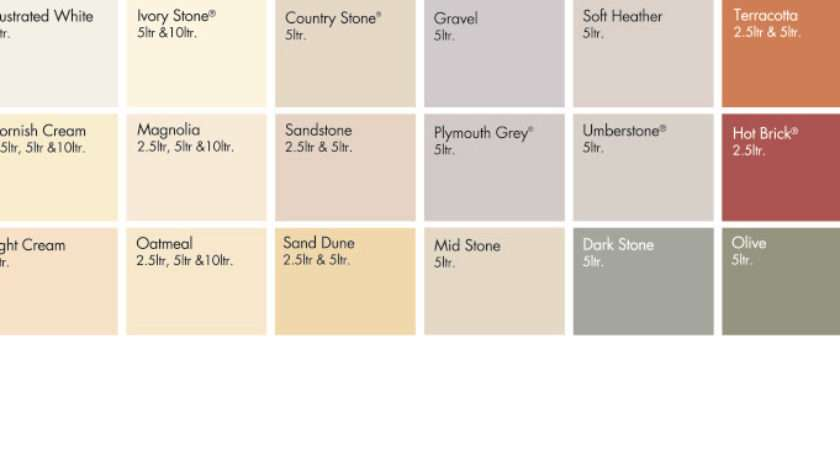 Sandtex Smooth Masonry Paint Available Following Colours