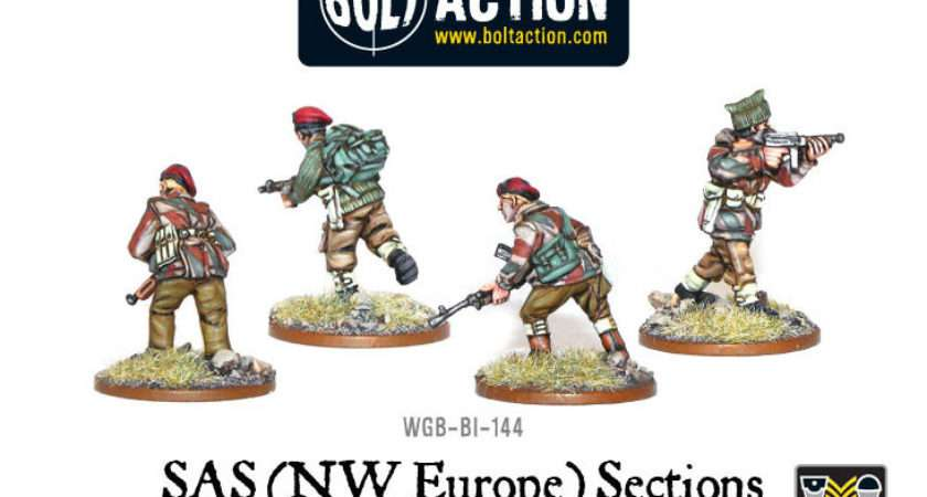 Sas Nwe Sections Warlord Games