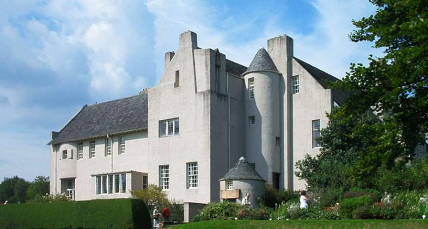 Scottish Architect Designer Artist Charles Rennie Mackintosh