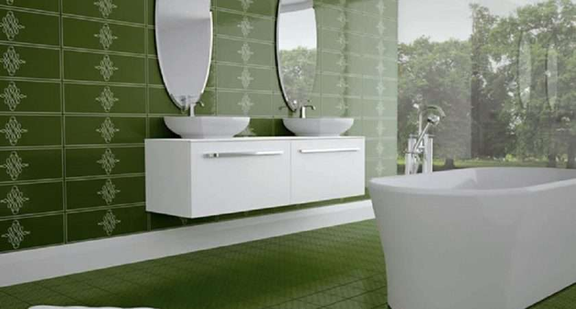 Sea Green Bathroom Tiles Ideas