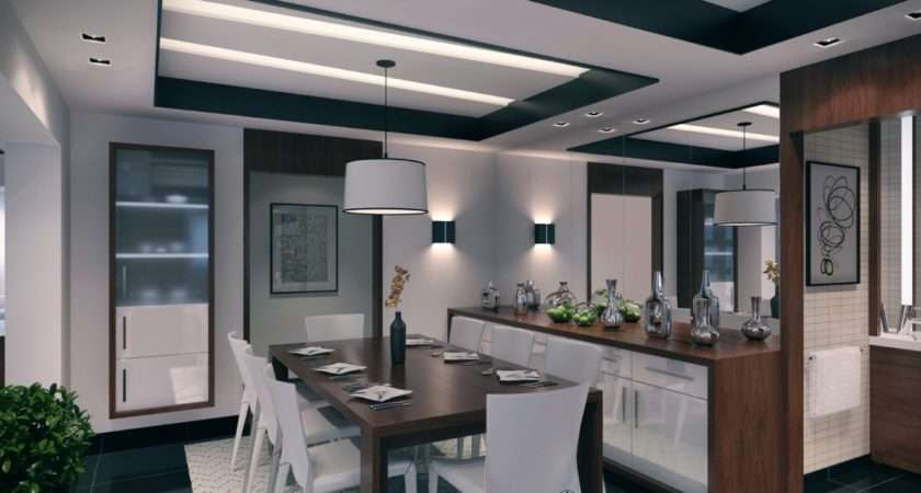 Set Eight Dining Room Offers Ample Space Intimate