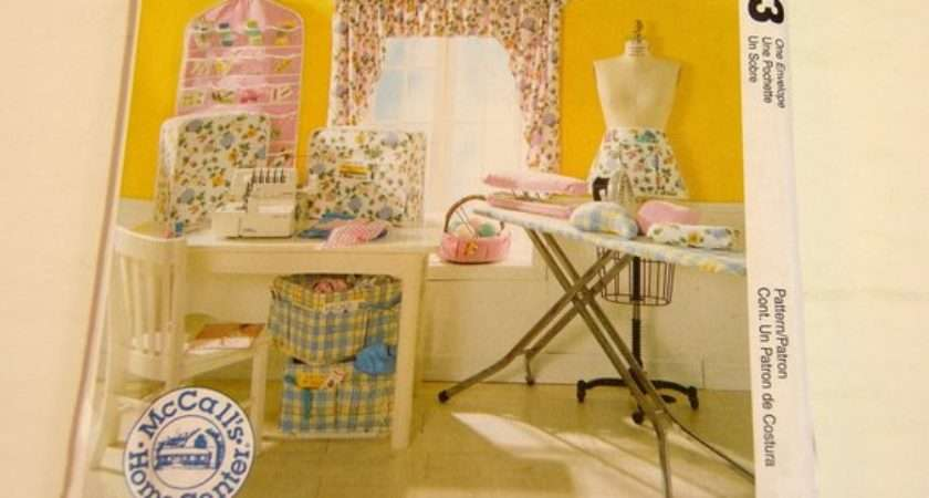 Sewing Room Essentials Mccalls Home Decorating Craft Pattern
